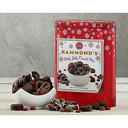 Hammonds Chocolate Crunch Mix:Send Chocolate to USA