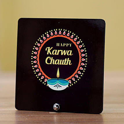 Karwa Chauth Printed Table Top Online