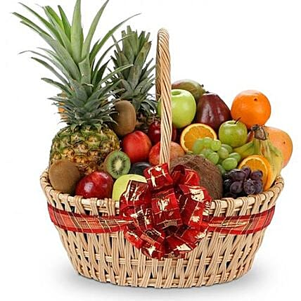 Healthy Wishes With Fruits