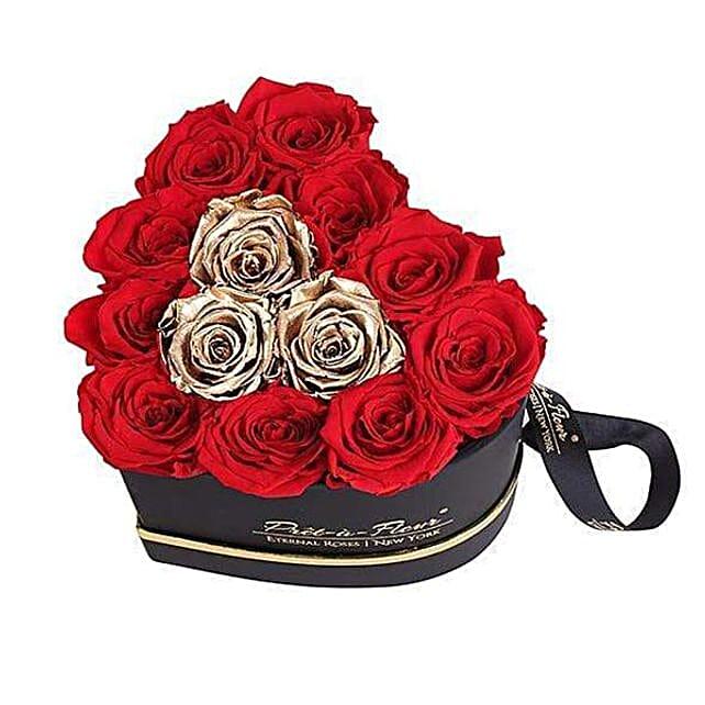 Heart Eternal Rose Arrangement