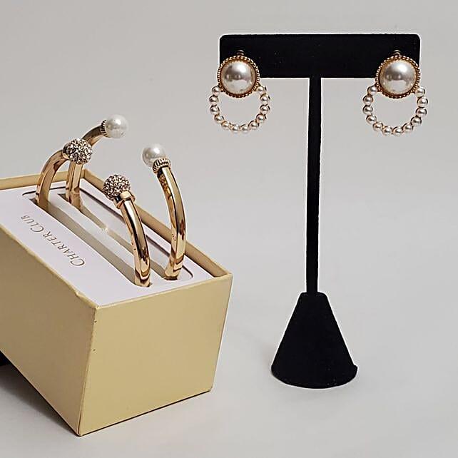Imitation Pearl Jewelry Gift Set:Send Jewellery to USA