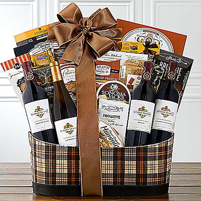 Kendall Jackson Wine Collection N Snack Hamper