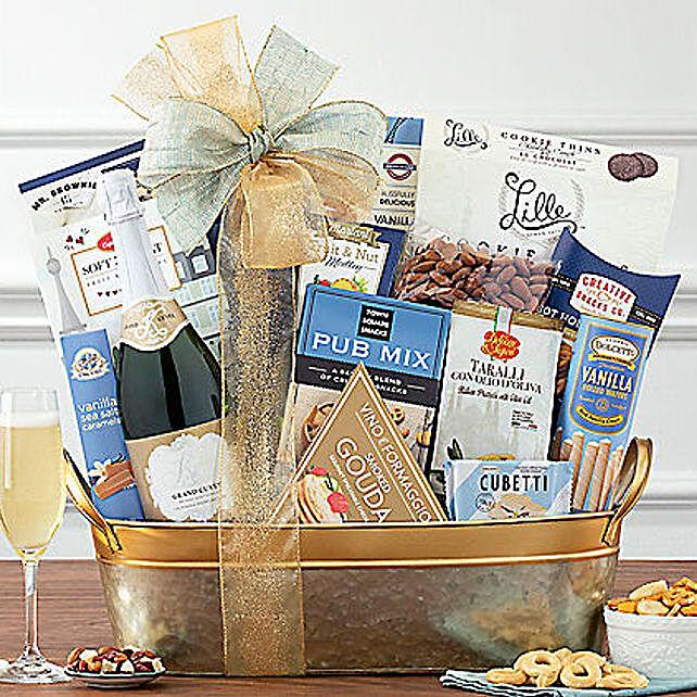 Kiarna California Champagne Basket