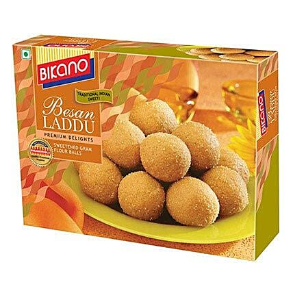 Love For Besan Laddoo