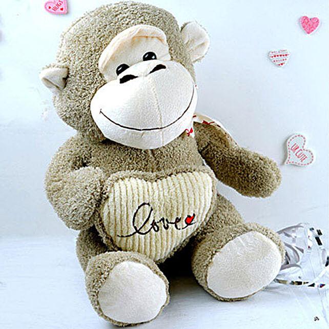 Love Monkey Soft Toy