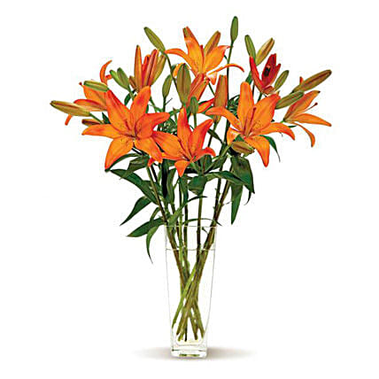 Lovely Lilies flowers birthday