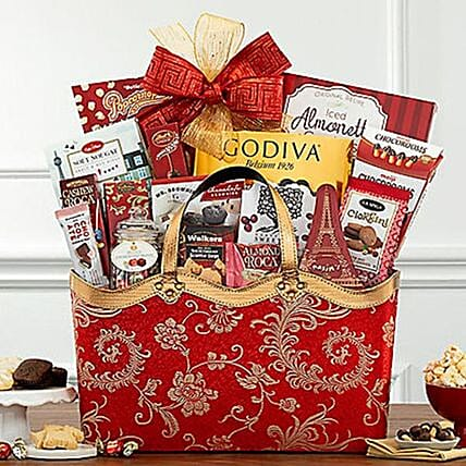 Lunar New Year Gift Basket:Gift Baskets USA