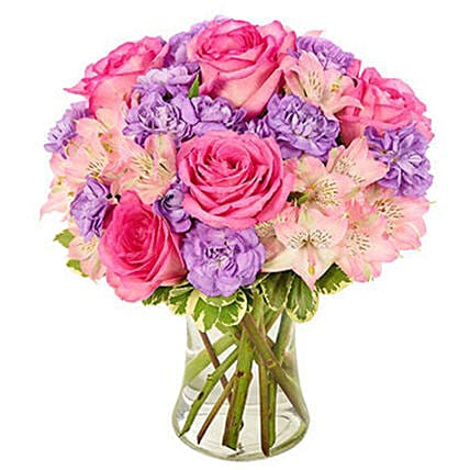 Mix Coloured Floral Bunch