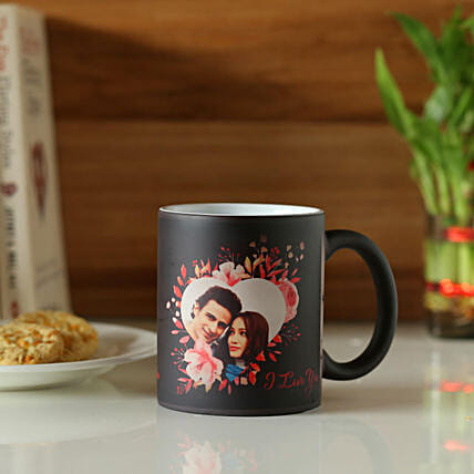 magic coffee mug with personalised touch