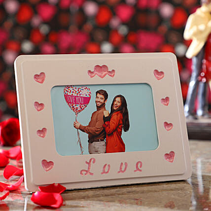 Personalised Couple In Love Photo Frame
