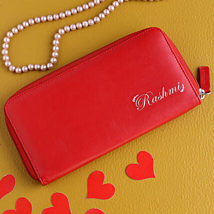 Personalised Love Wallet For Her