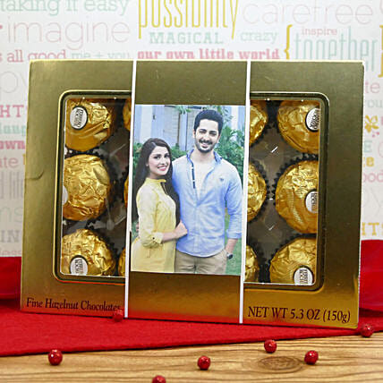 Personalized Ferrero Box:Send Anniversary Gifts to USA