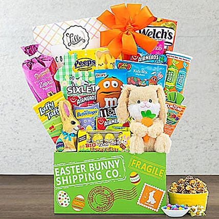 Peter Cottontail Easter Basket:Send Easter Gifts to USA