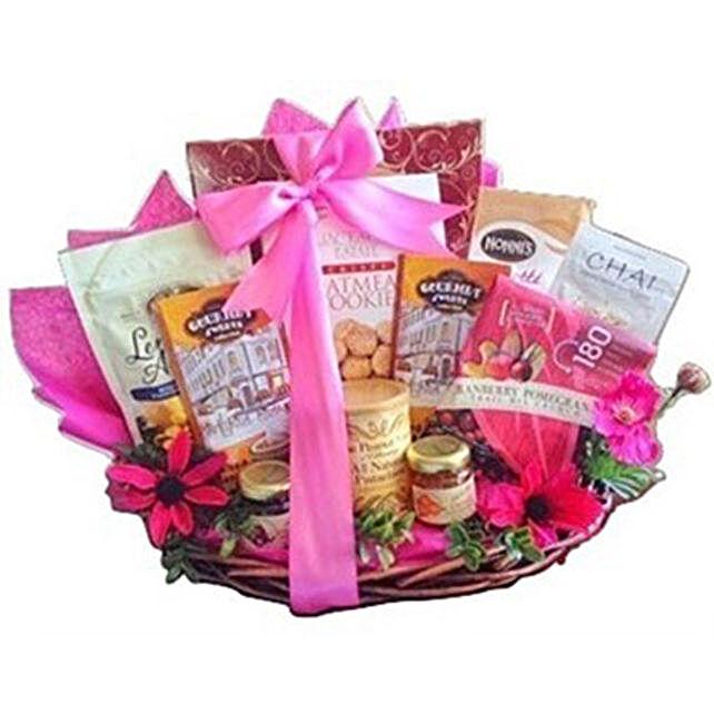 Pink Parade gift basket