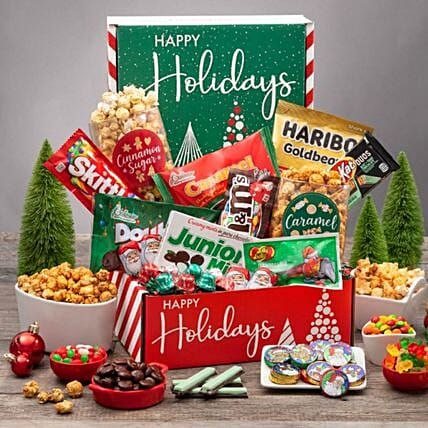 Premium Delivery Christmas Care Package:Send Christmas Gifts to USA