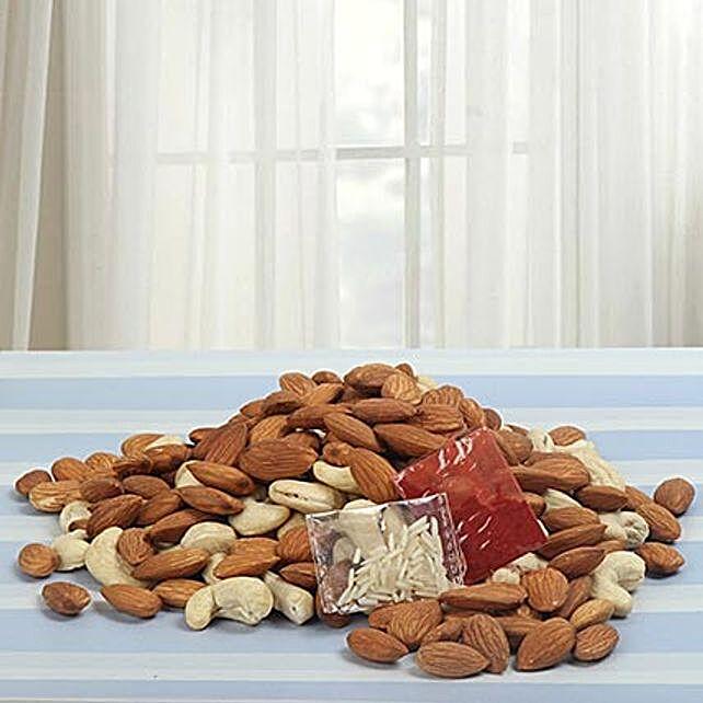 Pure Bhaidooj Love:Dried Fruit Gift Baskets to USA