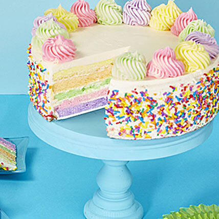 Rainbow Cake In Usa