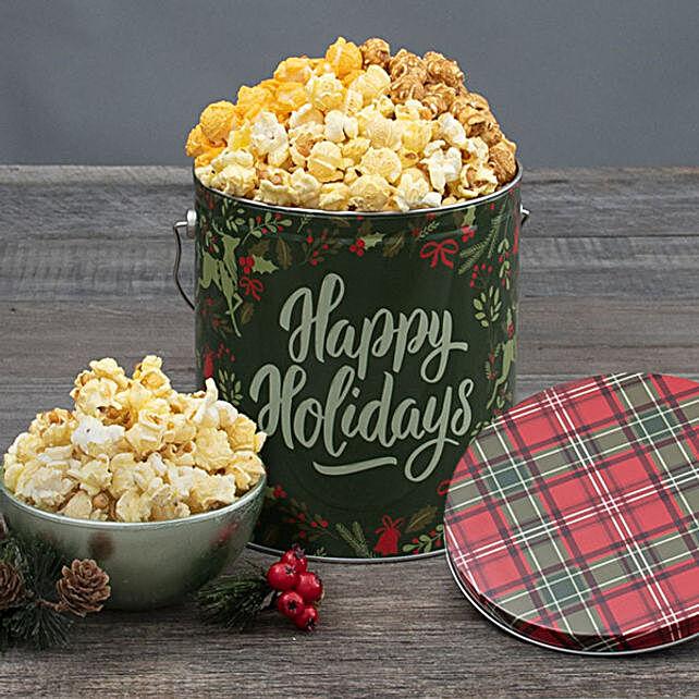 Reindeer Halloween Gift Basket:Popcorn Hampers To USA