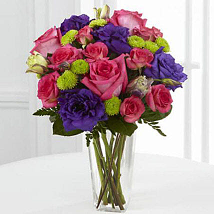 Romantic Melodies Bouquet flowers birthday