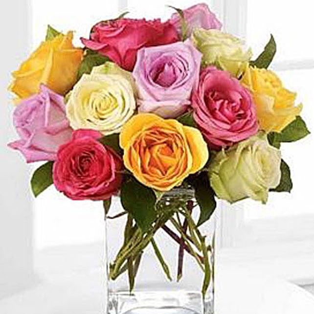 Rose Fest Arrangement flowers birthday