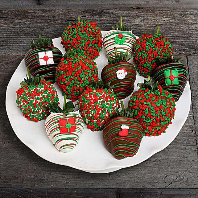 Scrumptious Halloween Berries:Send Chocolate to USA