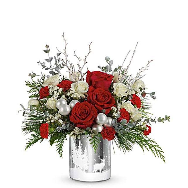 Silver Dreams Christmas Bouquet