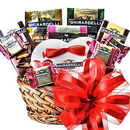 Special Chocolate Gift Basket