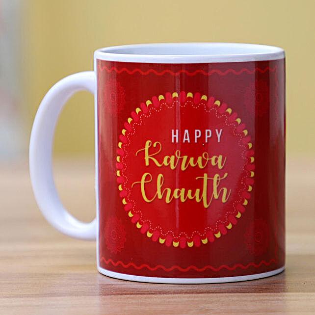 Printed Mug for Karwa Chauth