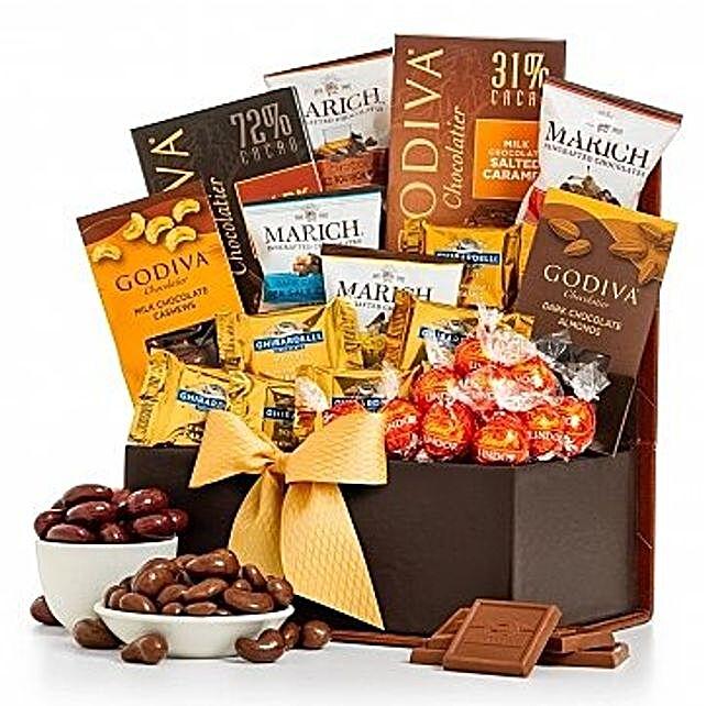 Sweet Sensations Godiva Chocolates:USA Sweets