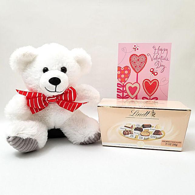 Teddy Bear And Chocolates