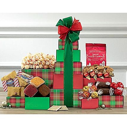 Tower Of Treats Festivities:Send Corporate Gifts to USA