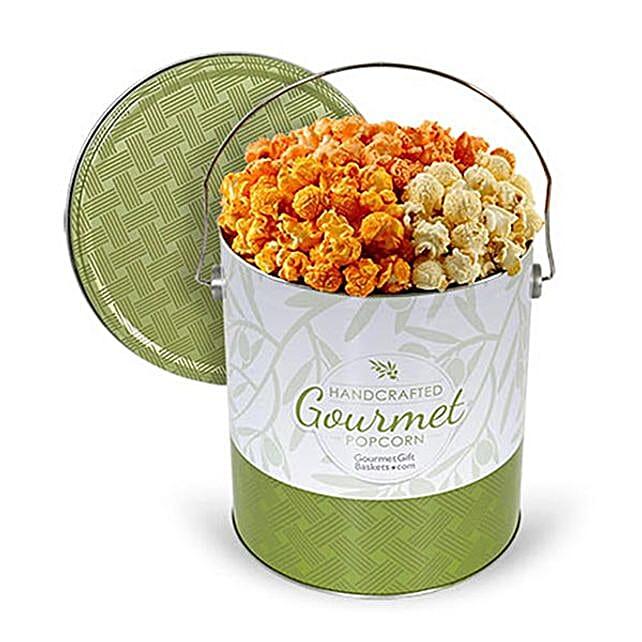 Triple Cheddar Popcorn 1 Gallon:Popcorn Hampers To USA