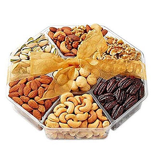 Christmas Nuts Gift Basket