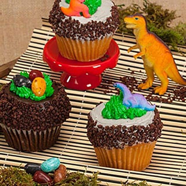 CRUMBS Signature Jurassic Cupcakes