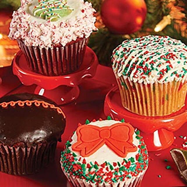 CRUMBS Signature Holiday Cupcakes