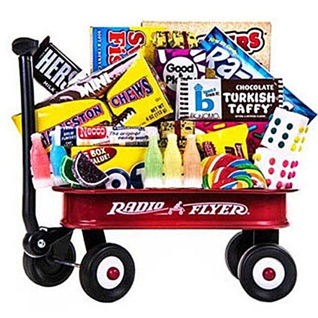 Sweet Memories Wagon ful of Goodies