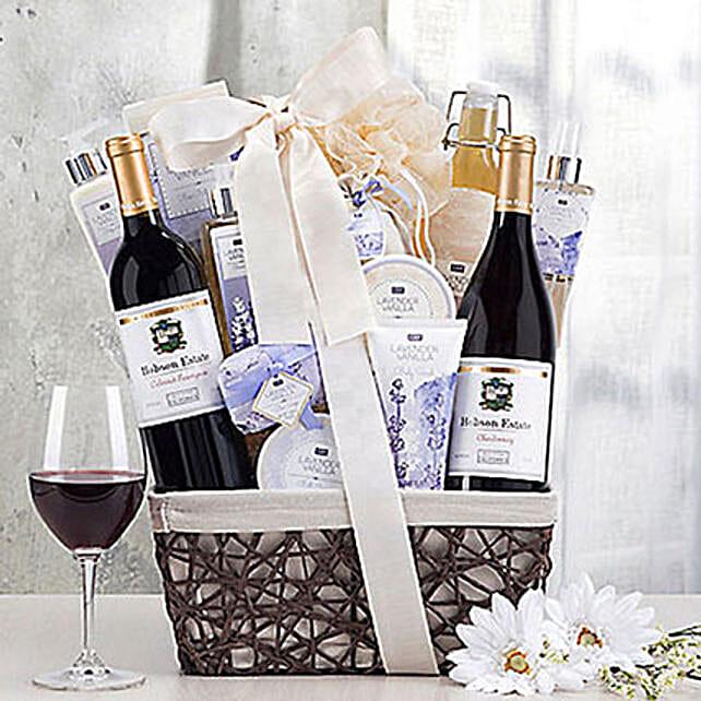 Cliffside Vineyards Lavender Vanilla Spa Gift