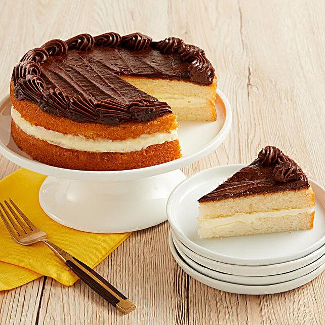 Boston Cream Cake Cakes Birthday