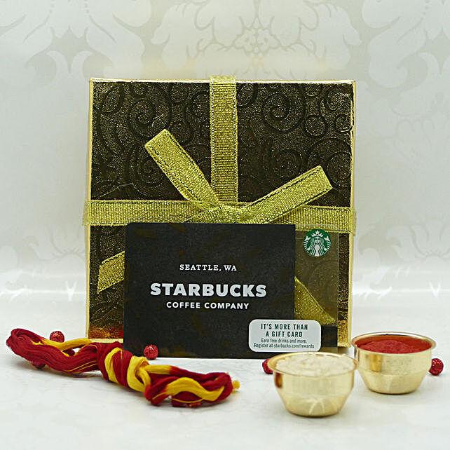 Starbucks Gift Card For Bhai Dooj