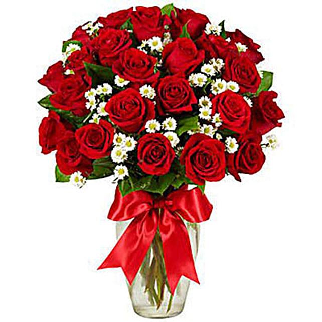 Luxury Two Dozen Red Roses Bouquet