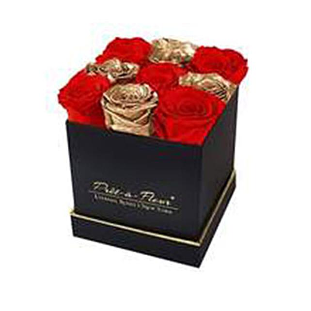 Lennox Holiday Cheer Eternal Rose Gift Box Multi color