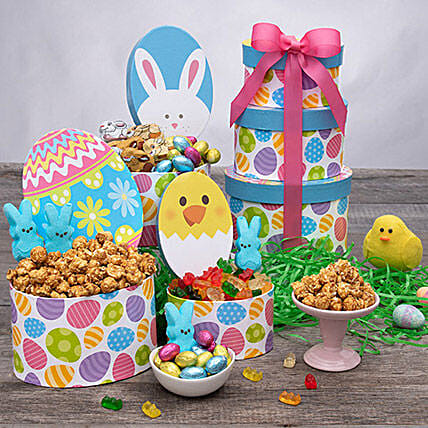 Delicious Easter Gift Tower