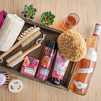 Happy Mothers Day Spa Gift Basket