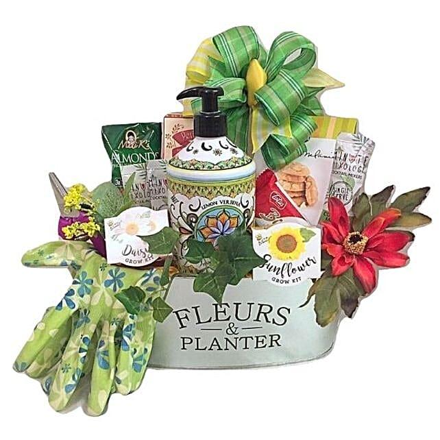Fleurs And Planter Tin