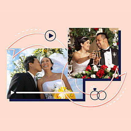 Happy Anniversary Personalised Video Wishes:Send Anniversary Gifts to USA