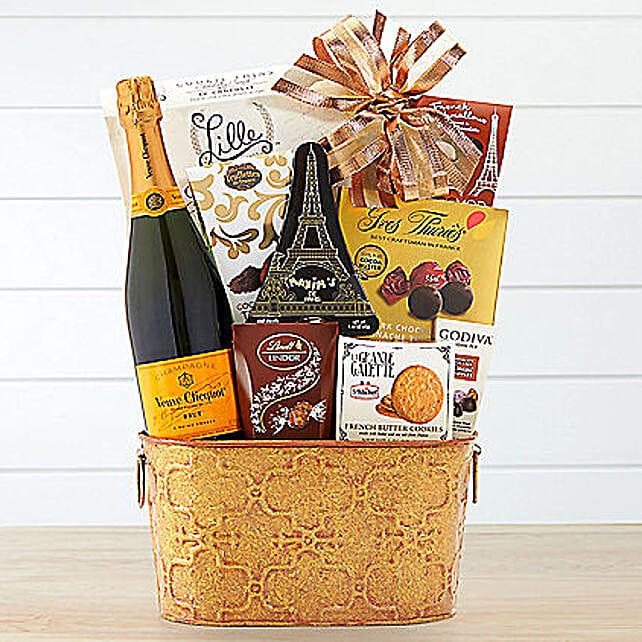 Veuve Clicquot Gift Basket