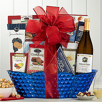 Barrel Hoops Chardonnay Bon Appetit:House Warming Gifts to USA