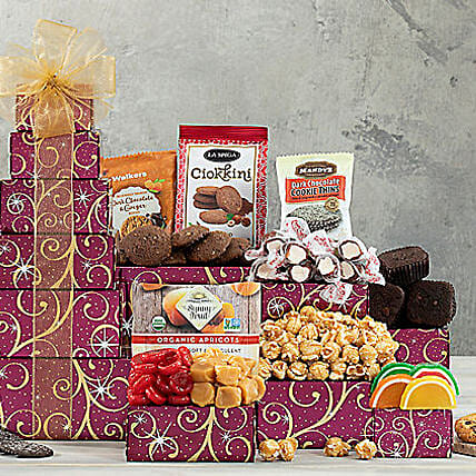 Chocolate and Sweets Tower:Send Gifts to Austin