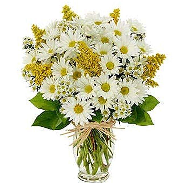 Peaceful Flower Arrangement:Send Flowers to USA
