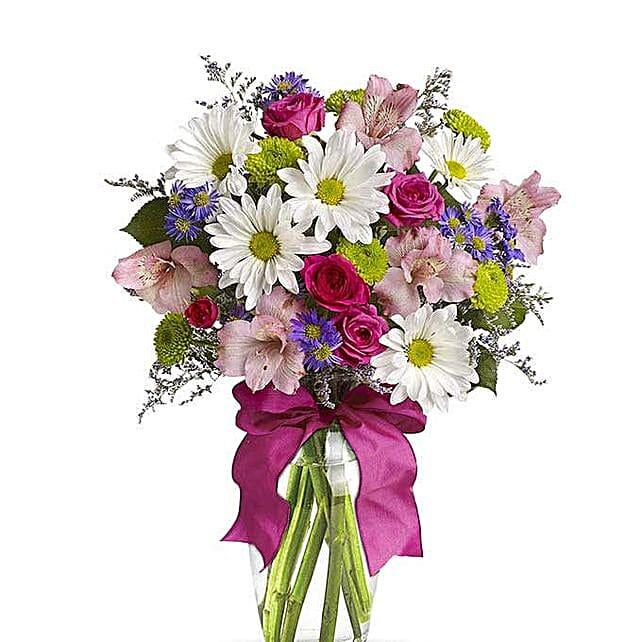 Pretty Flower Vase:Send Flowers to USA